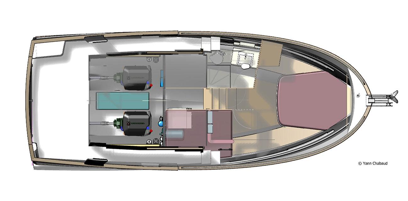 Rhea 34 Trawler