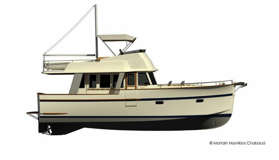 Rhea 43 Trawler