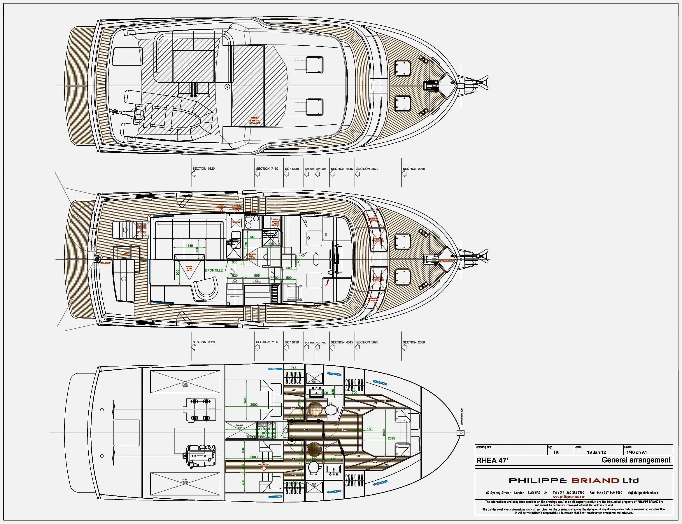 Rhea 47 Trawler